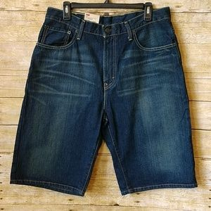 Levi's 569 Loose Straight Denim Shorts